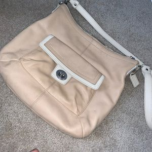 COACH Blush Pink Shoulder Bag!